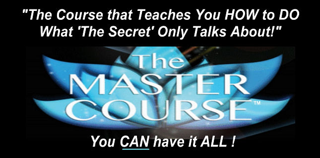 The MASTER COURSE�